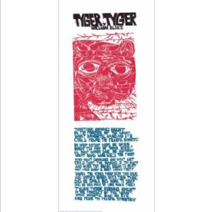 Tyger Tyger Print by  Paul Peter Piech.